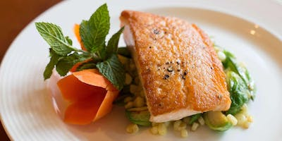 Fresh-Caught Salmon Dinner - Cooking Class by Cozymeal™