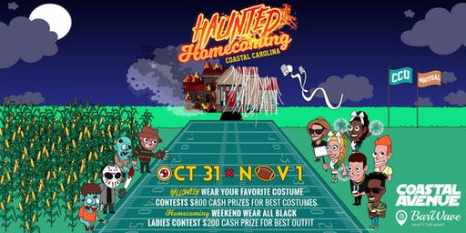 COASTAL AVENUE & BARWAVE PRESENTS HAUNTED HOMECOMING 2019