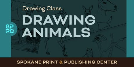 Drawing Class:  Drawing Animals tickets