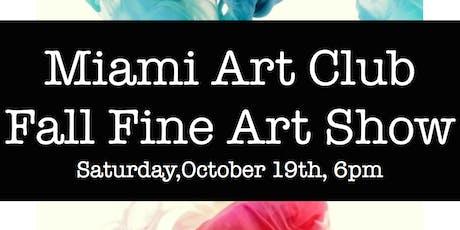 Fall Fine Art Show tickets
