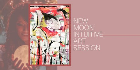 New Moon Intuitive Art Session tickets