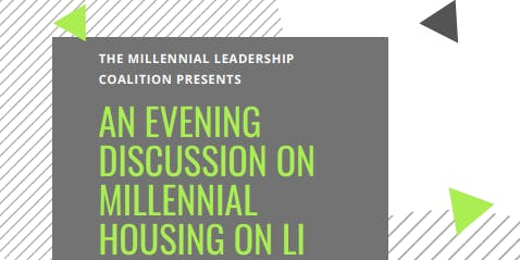 An Evening Discussion on Millennial Housing on Long Island