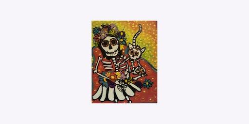 Paint & Sip - Dia de los Muertos
