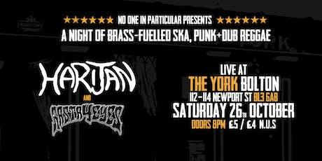 Harijan/Rasta4eyes - Ska / dub / reggae  in Bolton tickets