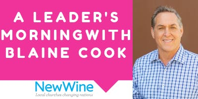 Leader's Morning with Blaine Cook