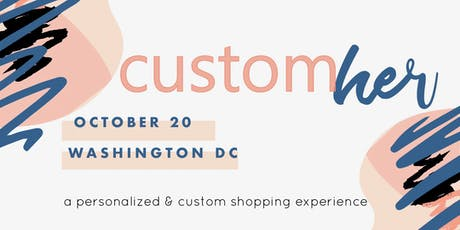 CustomHER Pop-Up tickets