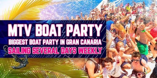 Boat Party Gran Canaria - Mtv Boat Party 2019