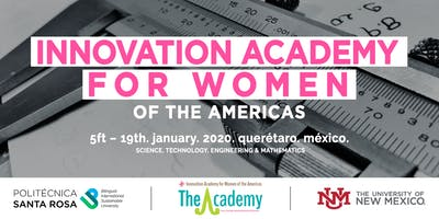 Innovation Academy for Women in the Americas 2020