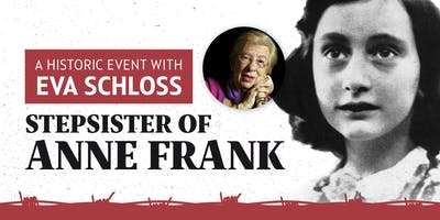 A Historic Evening with Eva Schloss, Stepsister of Anne Frank