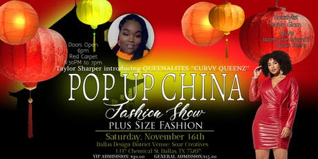 Pop Up China Fashion Show tickets