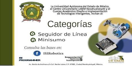 Concurso de Robótica CU UAEM Nezahualcóyotl entradas