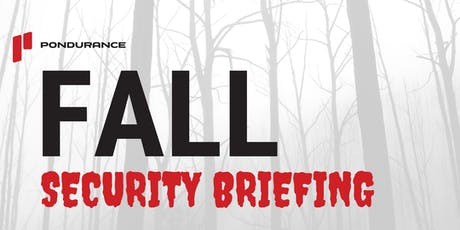 Fall Security Briefing tickets