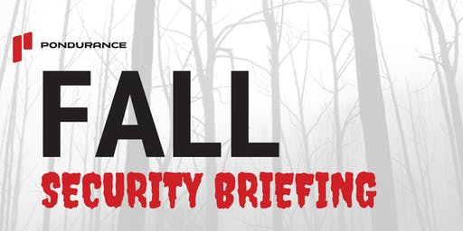 Fall Security Briefing