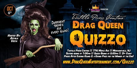 Drag Queen Quizzo - October 16th! tickets