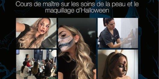 Dermalogica master class Maquillage d'Halloween