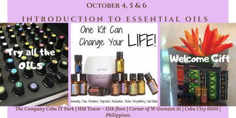 Cebu: Introduction to Essential Oils tickets