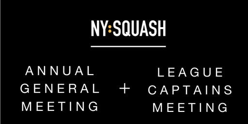 NY Squash Annual General Meeting and Captains' Meeting