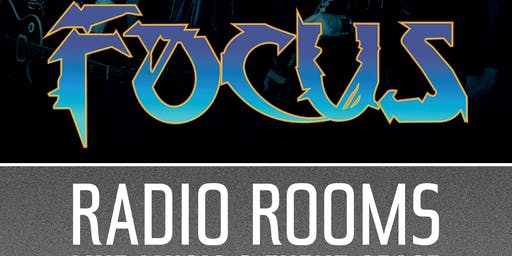 Focus live at The Radio Rooms