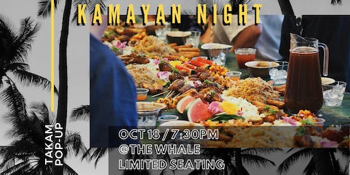 Kamayan Night with Takam