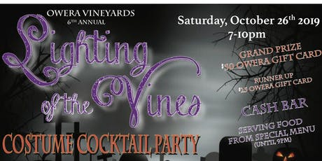 Lighting of the Vines tickets