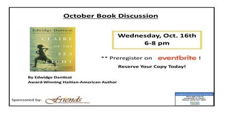 Book Discussion: Claire of the Sea Light by Edwidge Danticat entradas