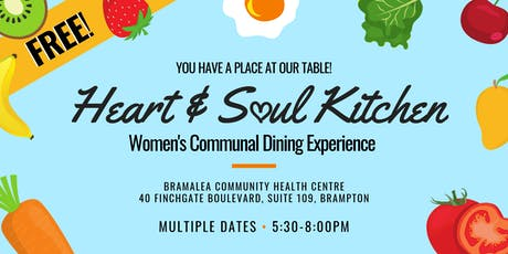 Heart & Soul Kitchen: Women's Communal Dining Experience  tickets