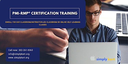 PMI-RMP Certification Training in Channel-Port aux Basques, NL
