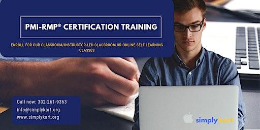 PMI-RMP Certification Training in Dauphin, MB