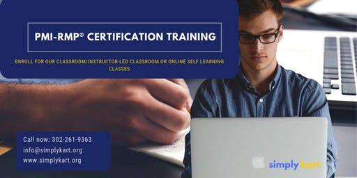 PMI-RMP Certification Training in Fort Saint James, BC