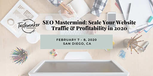 Tastemaker Conference SEO Mastermind