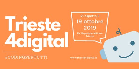 Trieste4digital | Sala Coding | Bambini 8-11 anni biglietti