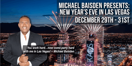 Michael Baisden New Year's Eve In Las Vegas At The Palms_All Access tickets