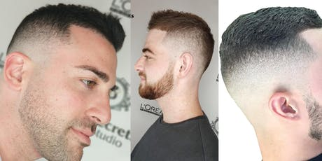 $20 Barber Men's Haircut + Beard Trim in Professional Salon tickets
