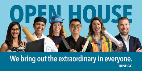 NBCC Saint John Campus Fall 2019 Open House- Grandview Location tickets