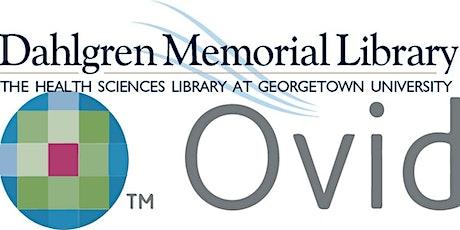 Ovid 101 MEDLINE & Embase from DML tickets