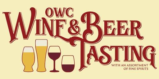 OWC Wine, Beer, & Fine Spirits Tasting