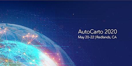 AutoCarto 2020:  WhereNext tickets