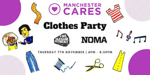 Manchester Cares' Clothes Party