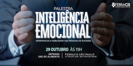 Palestra Inteligência Emocional - GRATUITA ingressos