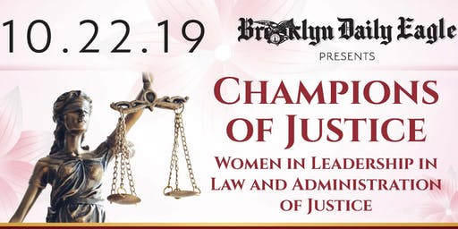 SOLD OUT! Champions of Justice