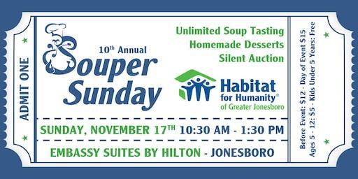 Habitat for Humanity of Greater Jonesboro Souper Sunday