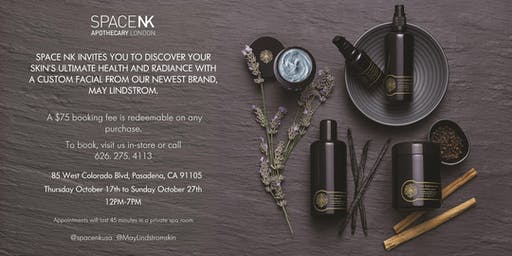 Space NK Pasadena invites you to a day of beauty and skincare with a facial