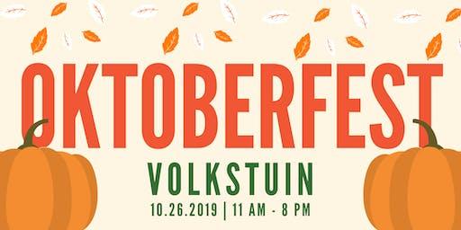 Oktoberfest at Volkstuin