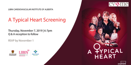 """A Typical Heart"" Screening tickets"