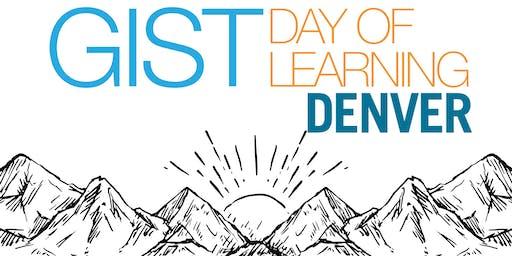 GIST Day of Learning Denver