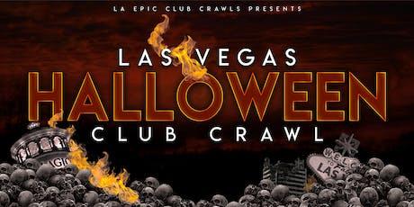 2019 Las Vegas Halloween Club Crawl tickets
