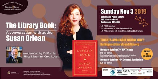 The Library Book: A Conversation with Susan Orlean