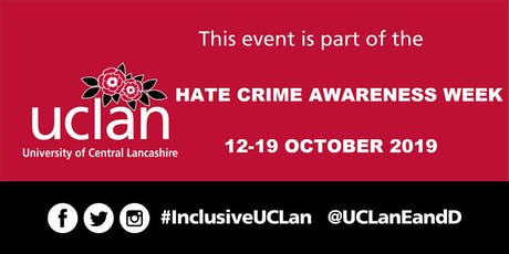 Public Lecture: Perspectives on Hate Crime tickets