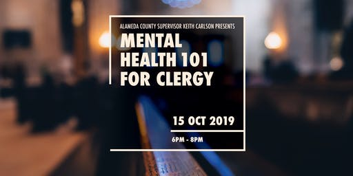 Mental Health 101 for Clergy