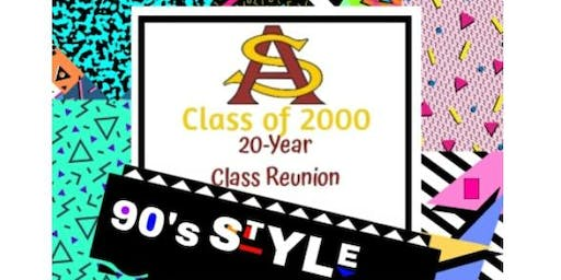 South Aiken High Class of 2000 Reunion...20 Years Later!!